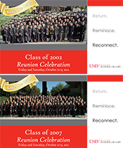 Class of 2002 & 2007 Reunion Postcards