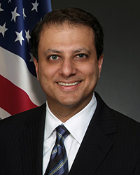 Preet Bharara, Former U.S. Attorney for the Southern District of New York