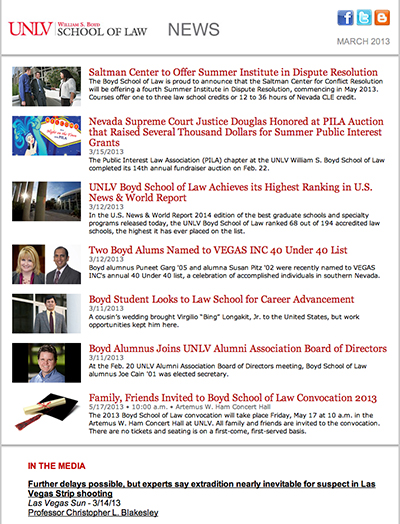 BSL News - March 2013