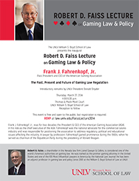 Faiss Lecture 2014 Flyer