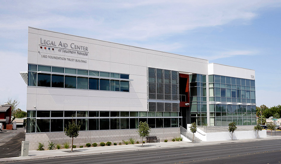 Legal Aid Center of Southern Nevada, located at 725 E Charleston Blvd.