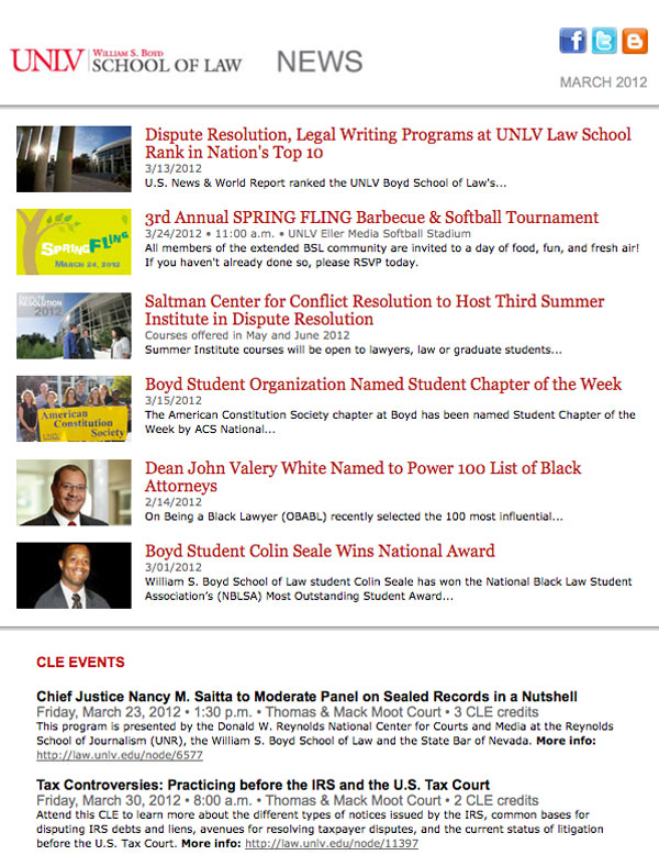 BSL News March 2011