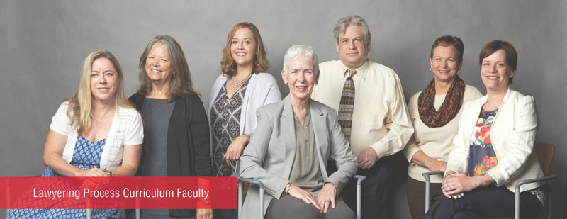 Lawyering Process Curriculum Faculty