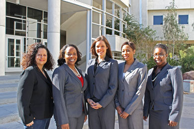 Photo of Mock Trial team