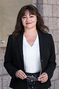 Immigration Clinic attorney Laura Barrera says that it's important—but difficult—not to become too emotionally involved in the cases of her young clients.