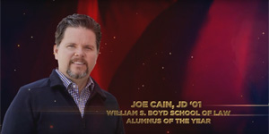 Joe Cain Alumnus of the year award