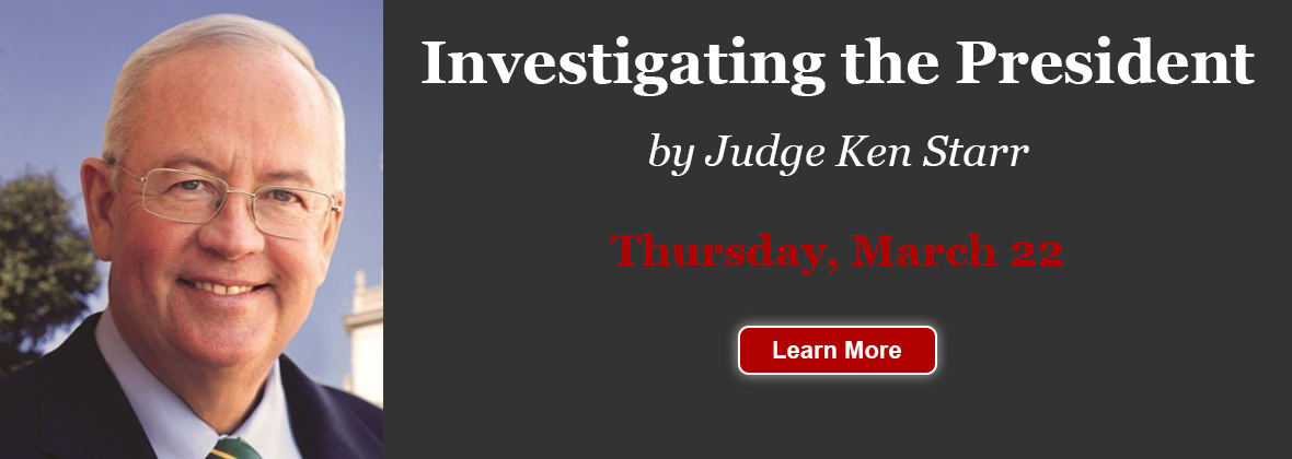 Investigating the President by Judge Ken Starr