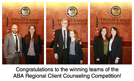 ABA Regional Client Counseling Competition