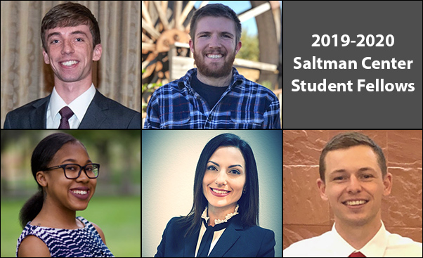 Saltman Center announces 2019- 2020 student fellows