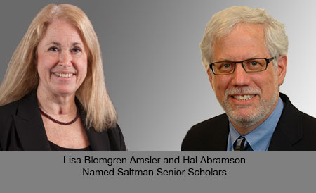 Lisa Blomgren Amsler and Hal Abramson pictures
