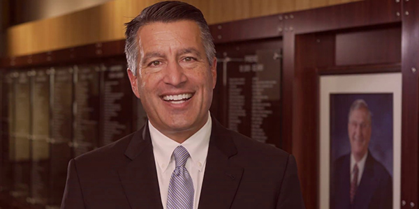 Former Governor Brian Sandoval talks about the impact of UNLV Law.